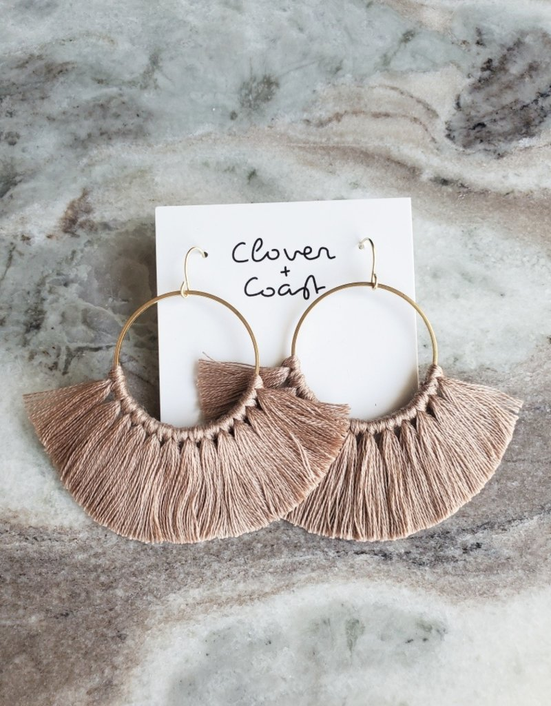 Clover + Coast Clover - Large Circle Fringe