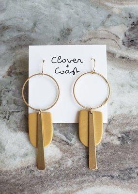 Clover + Coast Clover - Radley Clay Earrings