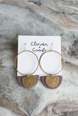 Clover + Coast Clover - Petula Clay Earrings