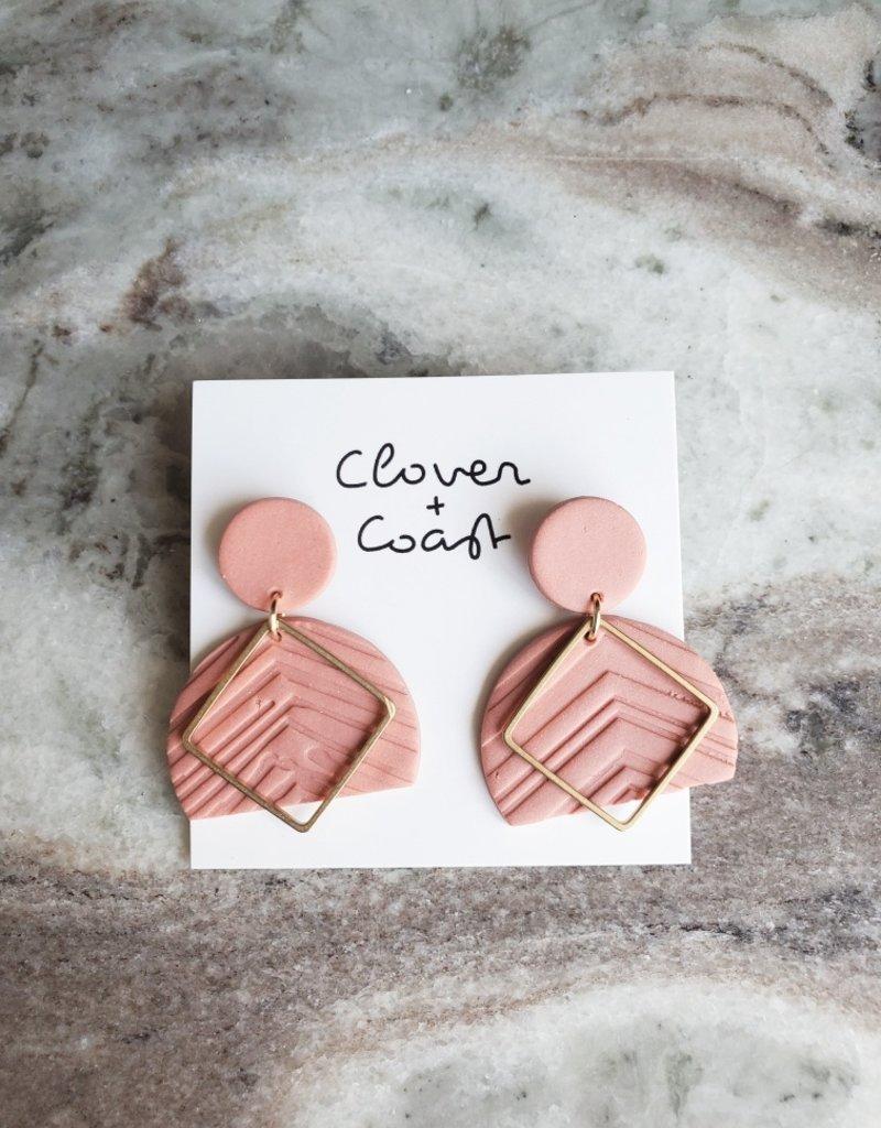 Clover + Coast Clover - Lacey Clay Earrings