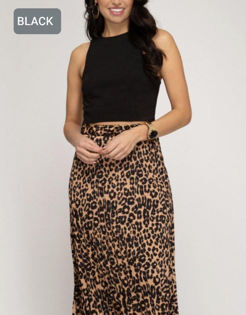 Catty Midi Skirt