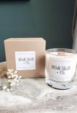 6S - Medium Jar/Wood/Brownsugar + Fig