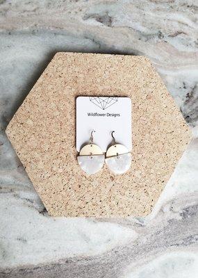 WFD - Cloud Adel Earrings