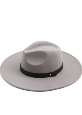 Jude Leather Strap Hat