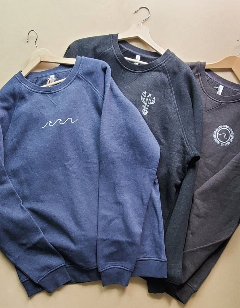 Madison Claire Designs MCD - No Bad Days Crew Neck Sweatshirt
