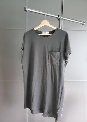 Visual Pocket T-Shirt Dress