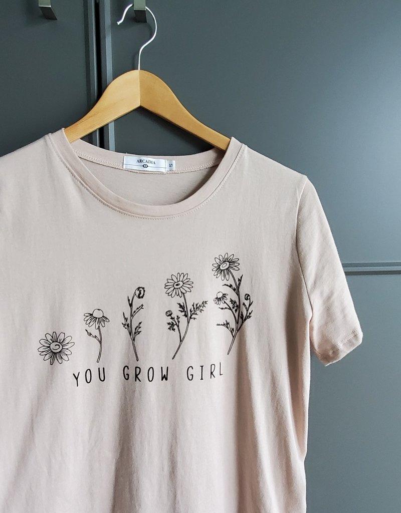 Grow Girl Tee