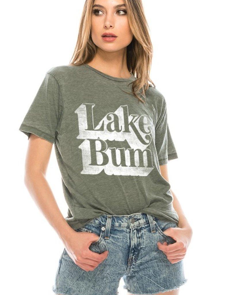 Lake Bum Tee