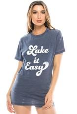Lake It Easy Tee