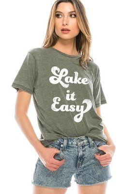 Lake It Easy Tee