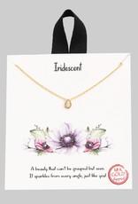 Mini Teardrop Necklace