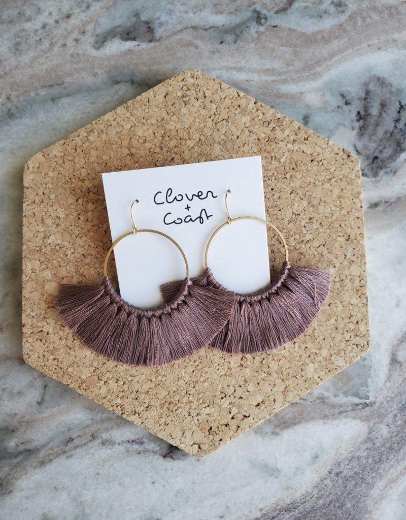 Clover + Coast Clover - Large Circle Fringe