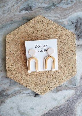 Clover + Coast Clover - Class Earrings