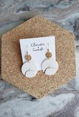 Clover + Coast Clover - Heart Earring