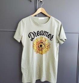 August Sunflower Tee