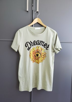 August Sunflower Tee