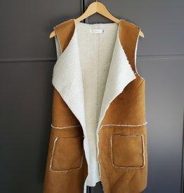 Jenny Fur Lined Vest