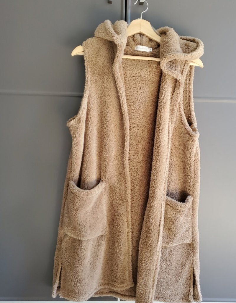 Shelly Furry Vest