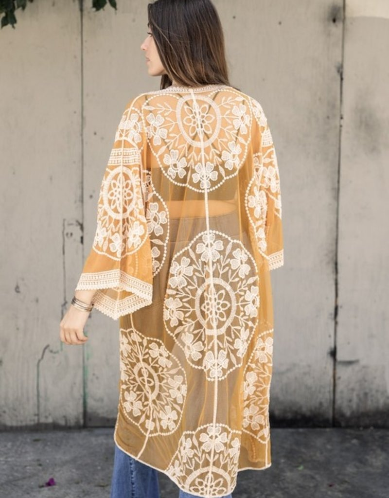 Golden Kimono