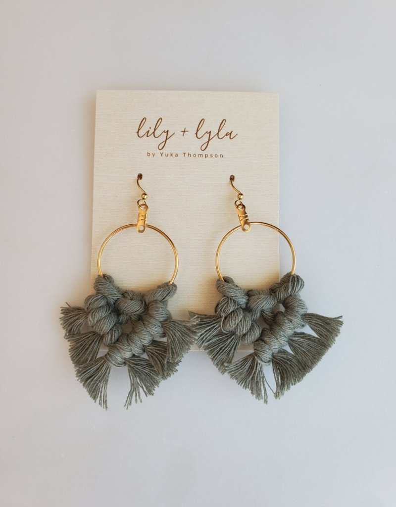 Lily and Lyla Designs LL - Macrame Earrings