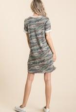 Arlo Camo Dress