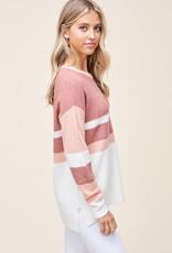 Arden Block Sweater