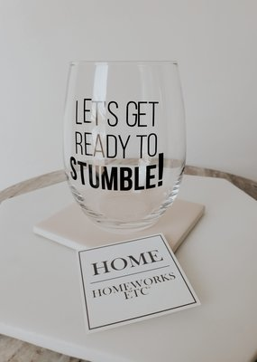 HW - Let's Get Ready To Stumble