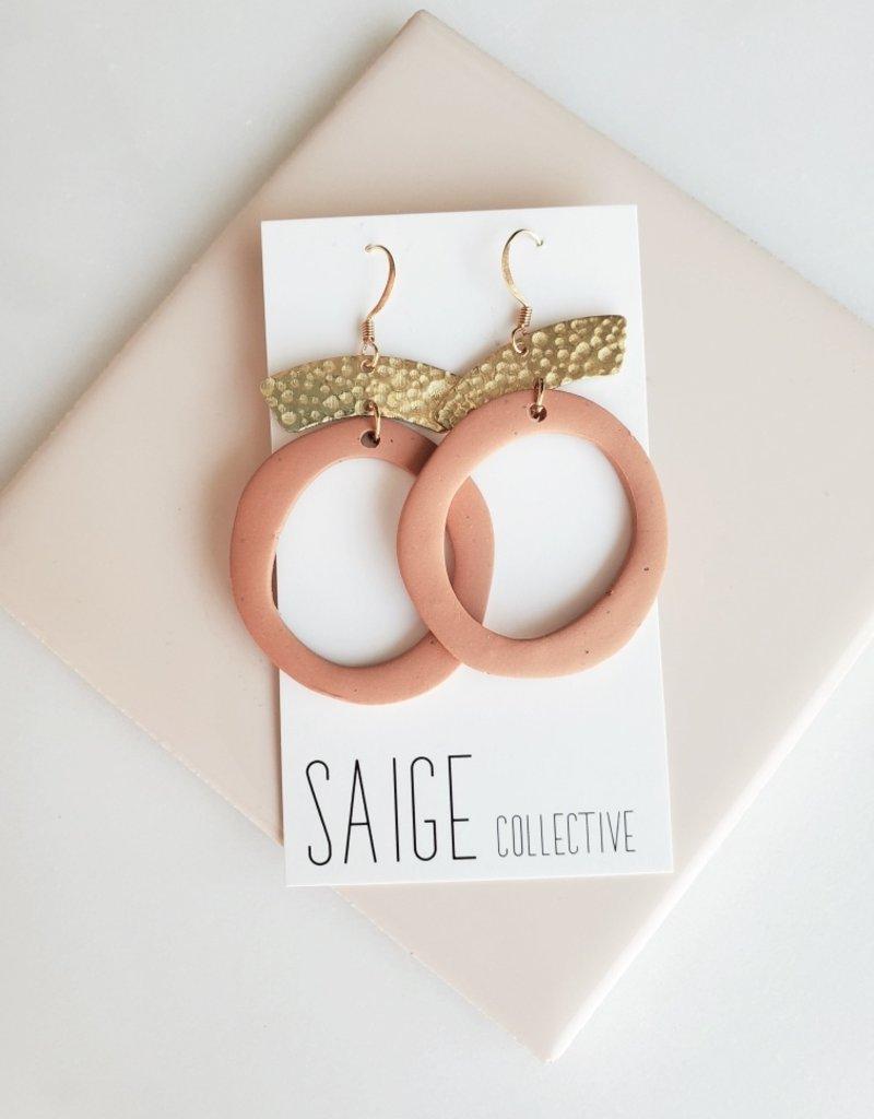 Saige Collective Saige - Ophelia Hoops