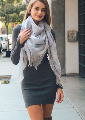 Luxe Check Scarf