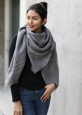 Westport Plaid Scarf