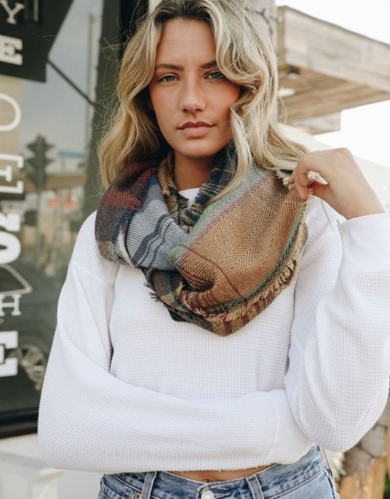 Encore Plaid Infinity Scarf