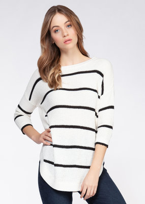 Fern Stripe Sweater