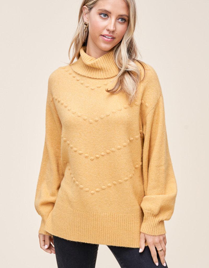 Hannah Pom Sweater