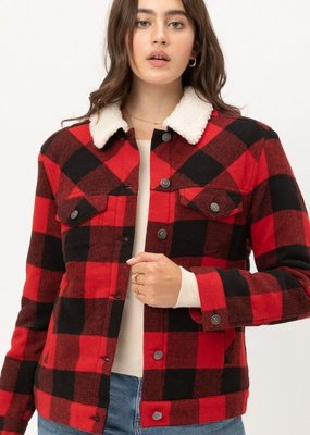 Winsley Check Coat