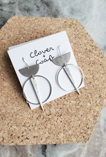 Clover + Coast Clover - Labyrinth Earring