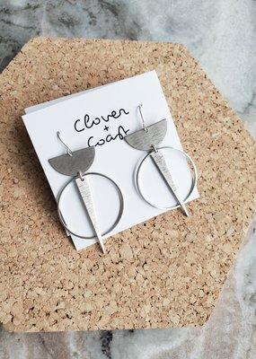 Clover + Coast Clover - Labyrinth Earring