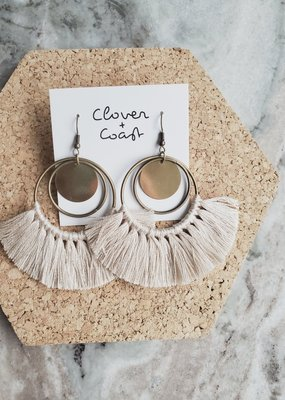 Clover + Coast Clover - Triple Circle Fringe