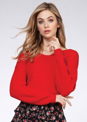 Hudson Twist Sweater