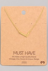 Monogram L Necklace