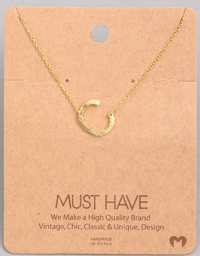 Monogram C Necklace
