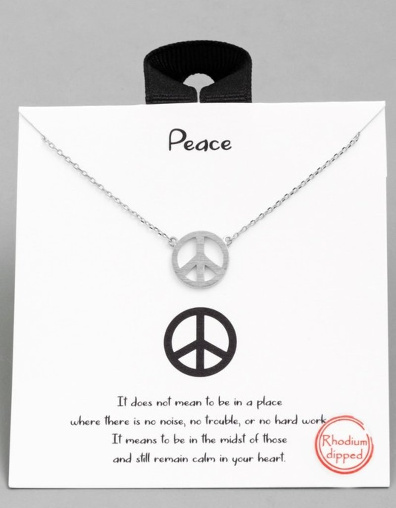 Peace Baby Necklace