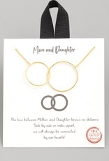 Mom & Daughter Necklace