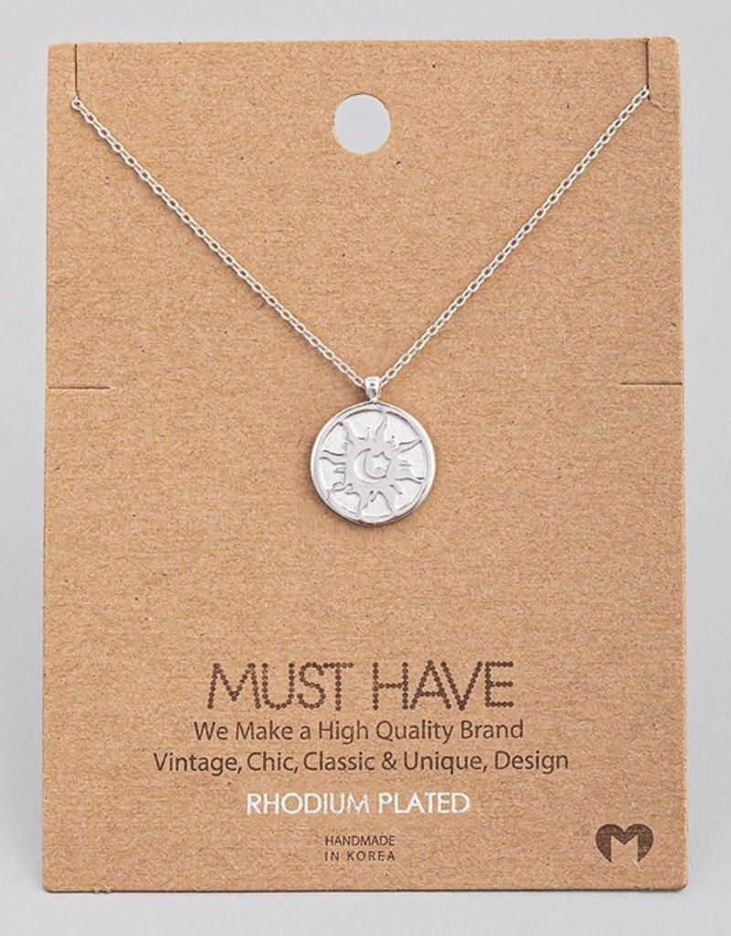 Sky Coin Necklace
