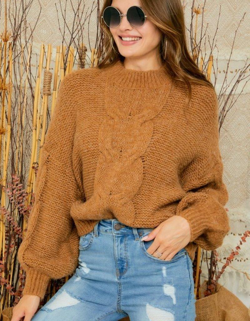Julia Cable Knit