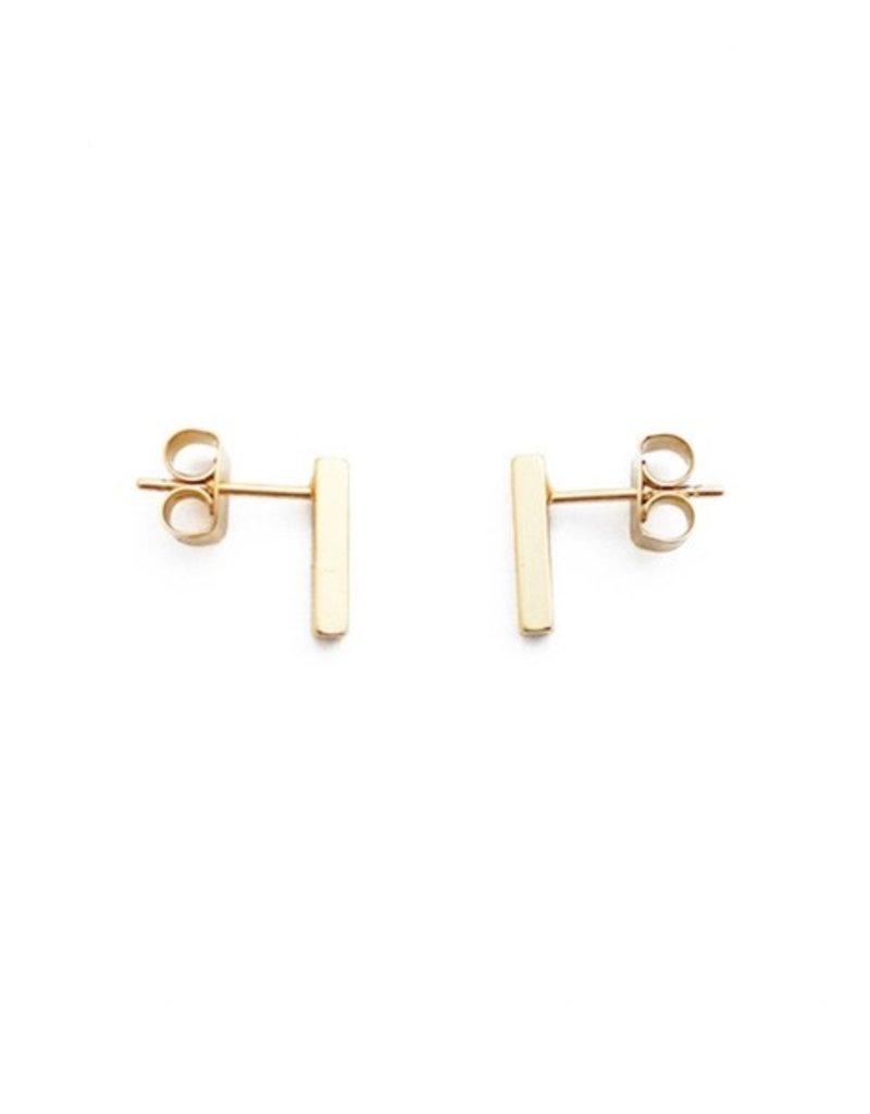 Honeycat Mini Drop Bar Earrings