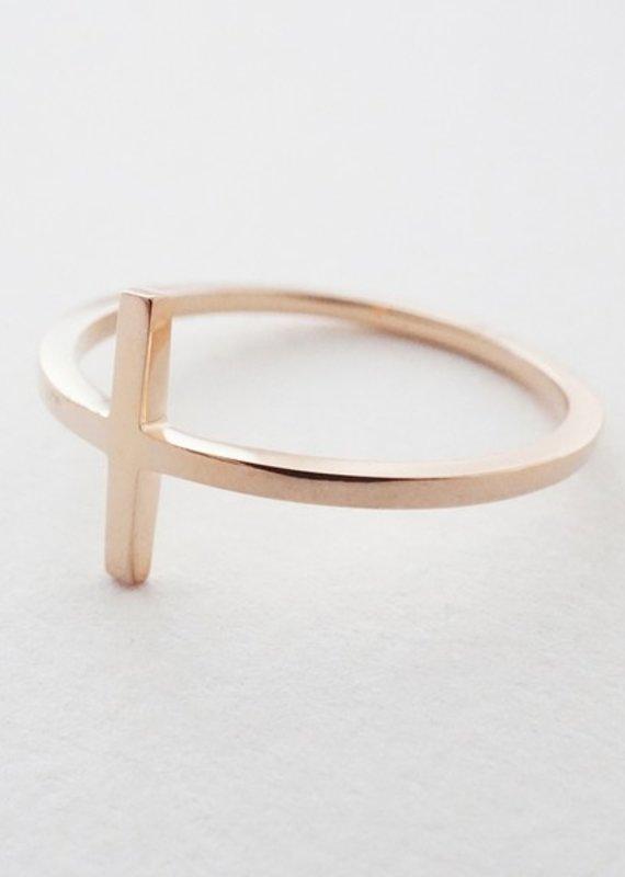 Honeycat T-Bar Ring