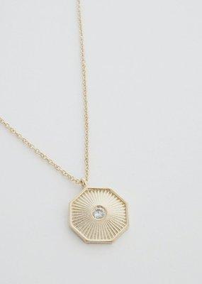 Honeycat Sunbeam Pendant Necklace