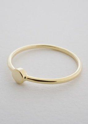 Honeycat Tiny Circle Ring