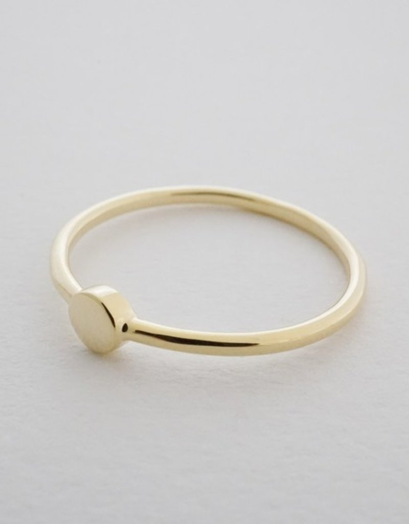 Honeycat Tiny Circle Ring