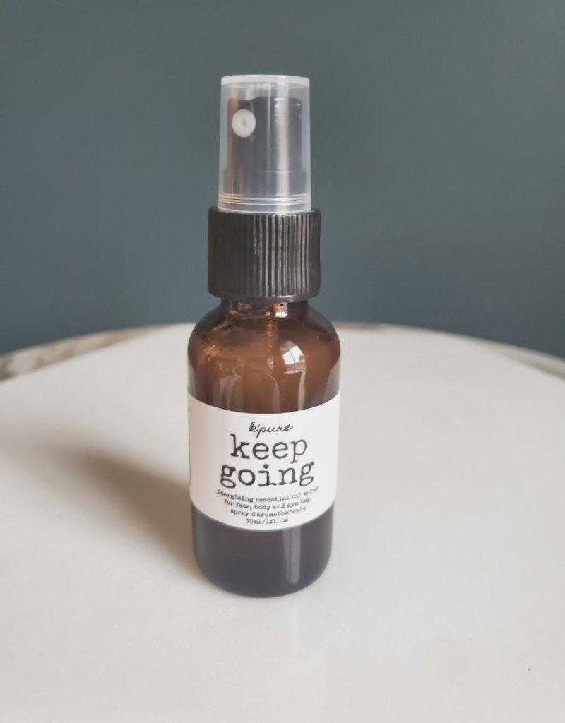 Kpure - Keep Going Spray